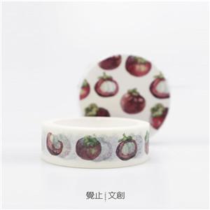 水果胶带实拍图