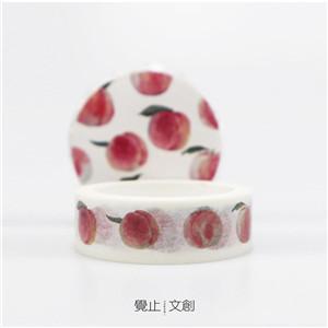 水果桃子胶带
